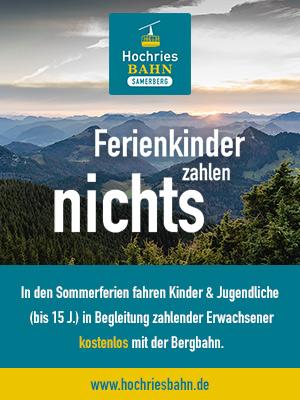 Teaser Ferienaktion Hochriesbahn